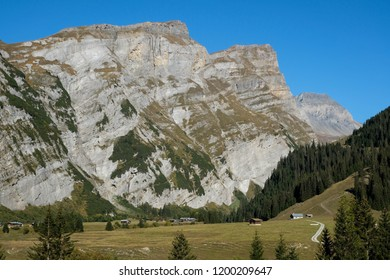 Switzerland Mountains near Flims Laax, Europe