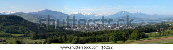 Switzerland and Mountens