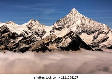 Switzerland.Furka Pass. Switzerland
