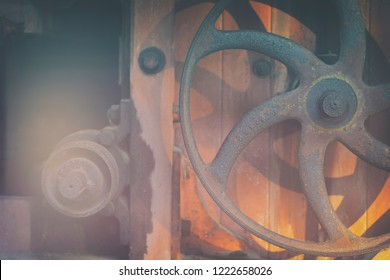 Swivel wheel from the old mechanism