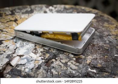 Swollen Battery Images, Stock Photos & Vectors | Shutterstock