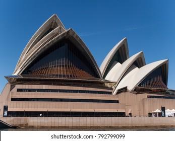 Sydney, australia, 04/05/2015, Sydney Opera House photographed from the ferry.