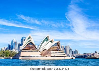 Sydney, Sydney / Australia - 07 14 2016 : Sydney Opera House