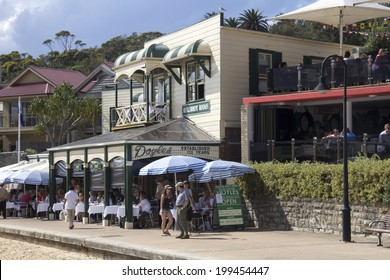 Sydney, Australia- 23th March 2013: Doyle's restaurant in Watson's Bay. The reataurant has been run by 5 generations of the Doyle family since opening in 1885.