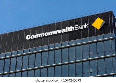 SYDNEY, AUSTRALIA - APRIL 15TH, 2018. Commonwealth Bank is one of the largest bank in the world.