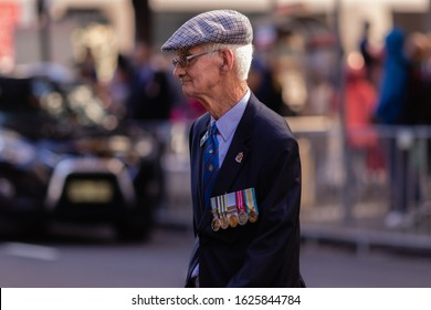 Sydney, Australia, April 25 2019, Anzac Day is a national day of remembrance in Australia and New Zealand that broadly commemorates all Australians and New Zealanders