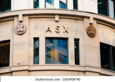 SYDNEY, AUSTRALIA - April 6, 2018: Financial headquarters Australian Securities Exchange (ASX) building