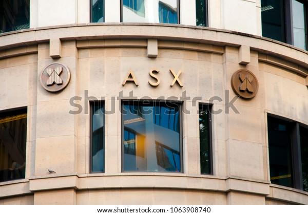 SYDNEY, AUSTRALIA - April 6, 2018: Financial headquarters Australian Securities Exchange (ASX) building