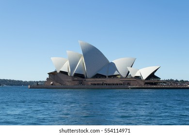 SYDNEY, AUSTRALIA, AUGUST 2016. Sydney Opera House, the most iconic building in Australia, opened its doors in October 20th, 1973, 14 years after the construction started.