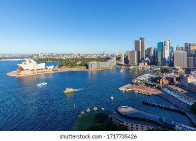 SYDNEY, AUSTRALIA - AUGUST 2016; Panoramic View Of The City