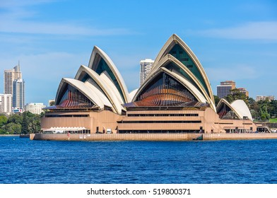 SYDNEY, AUSTRALIA - AUGUST 28, 2012: View of the Opera House from Kirribilli in Sydney, Australia