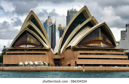 Sydney, Australia. Circa May 2005. Sydney Opera house is visited by millions of tourists every year.