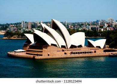 SYDNEY, AUSTRALIA - December 12, 2016: The Sydney Opera House is a multi-venue arts center designed by Danish architect Jorn Utzon