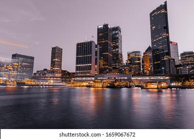 Sydney, Australia, December 5 2015, Vivid Sydney 2015 lighting festival