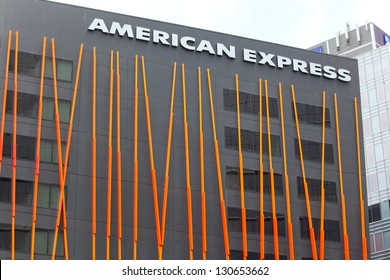 SYDNEY, AUSTRALIA- JAN 09: The American Express HQ on January 9th, 2013 in Sydney, Australia. American Express is ranked the 22nd most valuable brand in the world, estimating to be worth US$14.97B