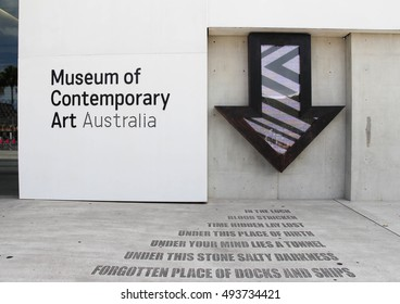 Sydney, Australia - Jan, 2014 : Museum of Contemporary Art, Australia