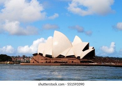 SYDNEY, AUSTRALIA, January 3, 2017: The Opera House is Sydney's most famous landmark