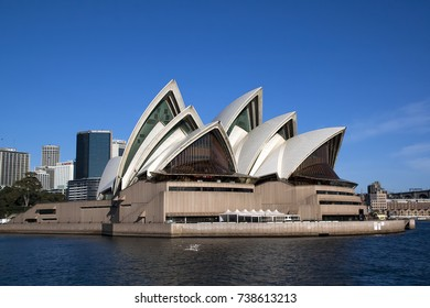 Sydney Australia June 27 2008,  Views of harbour including the iconic opera house under a blue sky
