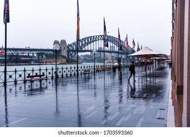 Sydney, Australia, March 30 2020, Sydney Opera House early morning