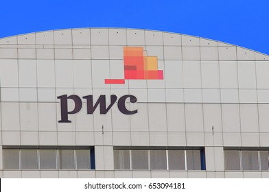 SYDNEY AUSTRALIA - MAY 30, 2017: PwC. PwC the second largest professional services firm in the world headquartered in London.