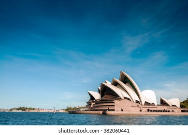 Sydney, Australia - November 09, 2015: The Sydney Opera House is a multi-venue performing arts centre identified as one of the most distinctive buildings. It was formally opened on 20 October 1973.