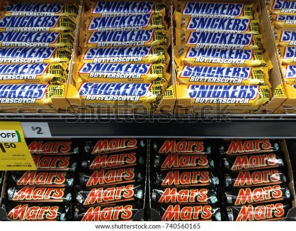 Sydney Australia October 3 2017 Snickers Stock Photo Edit