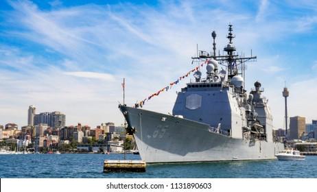 USS CHOSIN CG 65 Parking Sign U S Navy USN Military