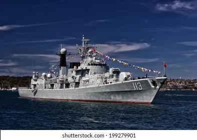 Destroyer Ship Images, Stock Photos & Vectors   Shutterstock