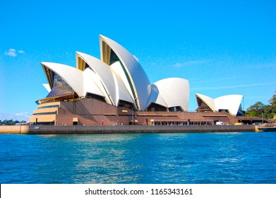 SYDNEY, AUSTRALIA. - On April 09, 2010. - Sydney opera house, is a multi-venue performing arts centre in Sydney, New South Wales with blue sky background.