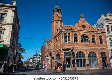 SYDNEY, AUSTRALIA. - On June 09, 2019. - The old Newtown Post Office, one of many historic buildings in New South Wales, is known for its history.