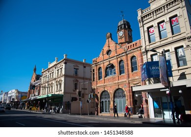 SYDNEY, AUSTRALIA. - On June 09, 2019. - The cityscape view of Newtown, one of many historic buildings in New South Wales, is known for its history.