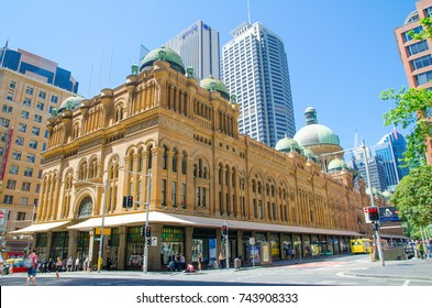 SYDNEY, AUSTRALIA. – On October 29, 2017 – The Queen Victoria Building (or QVB) is a late nineteenth-century building designed by the architect George McRae in the central business district of Sydney.