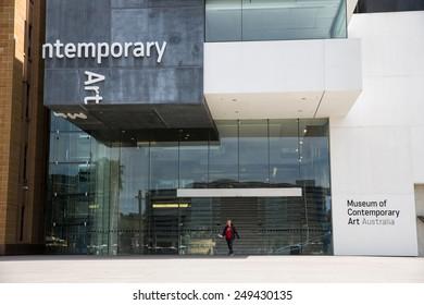 Sydney, Australia - September 19: View of the Contemporary Art Museum in Sydney, Australia on September 19, 2014.