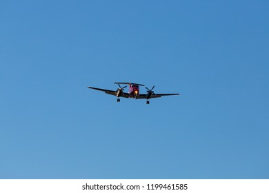 Sydney, Australia - September 4, 2018: Beech B200 Super King air from NSW Ambulance service.
