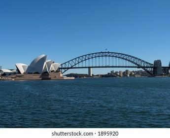 Sydney Bridge & Opera House