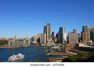 Sydney CBD - JANUARY 25: 15th most expensive city in the world for the year  2008 based on cost of living.  January 25, 2008 in Sydney Australia