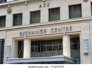 SYDNEY CIRCA DECEMBER 2017. Moving away from traditional technology, the ASX Australian Stock Exchange will adopt blockchain ledger, into its systems, the same technology Bitcoin uses