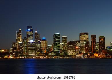 Sydney City After Dark