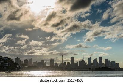 Sydney city cbd.