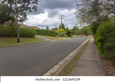 Sydney city, common urban asphalt roads and sidewalks, unmanned scenes