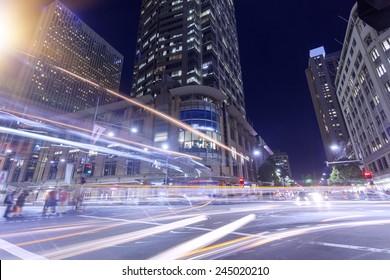 Sydney City Night