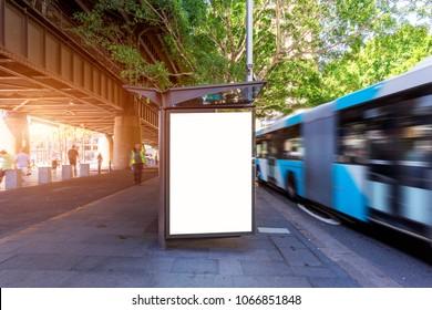 Stadtverkehr Sydney, Bushaltestelle