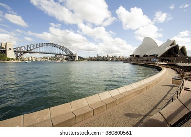 SYDNEY - December 27, 2015: The Sydney Opera House is a famous arts center. It was designed by Danish architect Jorn Utzon, is a popular tourist attraction.