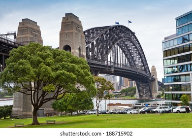 SYDNEY - DECEMBER 7: The Sydney Harbour Bridge in Sydney, Australia on December 7, 2011 is the world's widest long-span bridge.