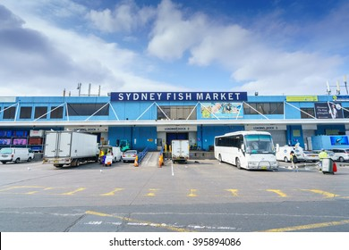 SYDNEY - FEB 20: Sydney Fish Market on Feb 20, 2016 in Sydney. It is the world's 3rd largest fish market, established in 1945 by the government and was privatized in 1994.