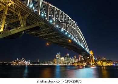 Sydney Harbour Bridge,  Sydney Harbour