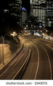 Sydney Highway at Night, Australia