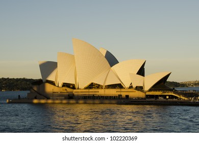 SYDNEY - MAY 4: Sydney Opera House view on May 4, 2012 in Sydney, Australia. The Sydney Opera House is a famous arts center. It was designed by Danish architect Jorn Utzon, opening in 1973.