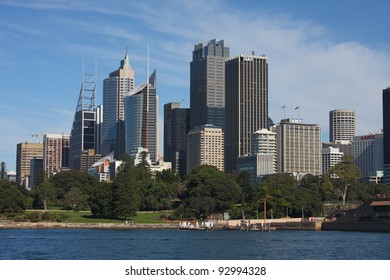 SYDNEY - MAY 7: Sydney CBD view on May 7, 2011 in Sydney. The Sydney central business district is the main commercial centre of Sydney, New South Wales, Australia.