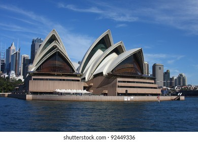 SYDNEY - MAY 7: Sydney Opera House view on May 7, 2011 in Sydney. Opera House is one of the most distinctive buildings and one of the most famous performing arts centres in the world.